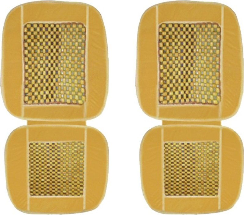 AutoKraftZ Cotton Seating Pad For  Honda City(Front Seats Beige)