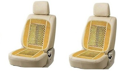 AutoStark Polyester, Cotton Seating Pad For  Hyundai Grand i10(Front Seats Beige)