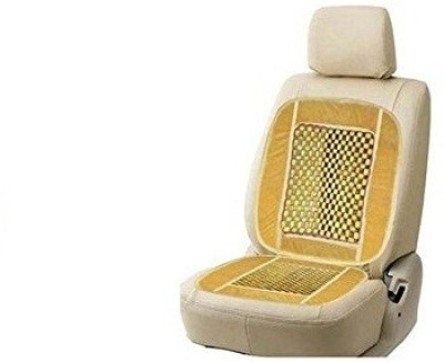 AutoStark Polyester, Cotton Seating Pad For  Maruti Suzuki Gypsy(Front Seats Beige)