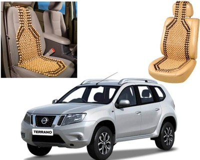 Auto Pearl Wooden Seating Pad For  Nissan Terrano