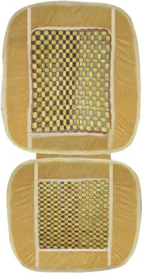 Vheelocityin Wooden Bead Seating Pad For  Honda NA(Front Seats Beige)