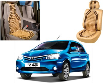 Auto Pearl Wooden Seating Pad For  Toyota Etios