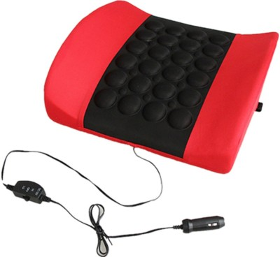 i-gadgets Red, Black Fabric Car Pillow Cushion for Universal For Car