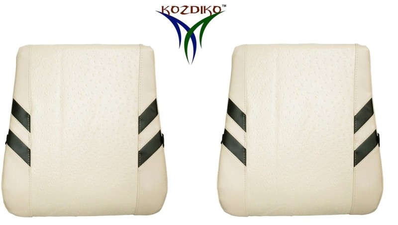Kozdiko Leather Seating Pad For  Mitsubishi Lancer(Front Seats and Back Seats Beige)