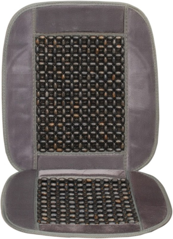 AutoGarh Wooden Bead, Cushion Seating Pad For  Volkswagen Jetta(Front Seats Grey)