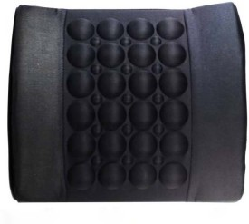 Next Zone Polyester Seating Pad For Mercedes Benz C220(Front Seat Black)
