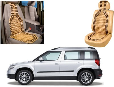 Auto Pearl Wooden Seating Pad For  Skoda Yeti