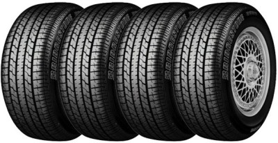 Bridgestone B250 (Set of 4) 4 Wheeler Tyre(155/80R13, Tube Less)