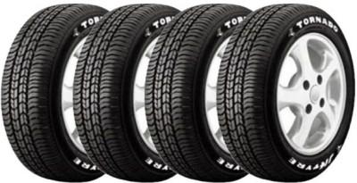 JK Tyre Tornado - TL (Set of 4) 4 Wheeler Tyre
