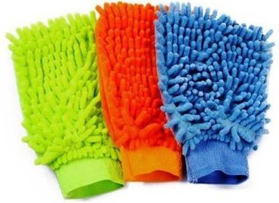 AutoSun Microfiber Vehicle Washing  Hand Glove