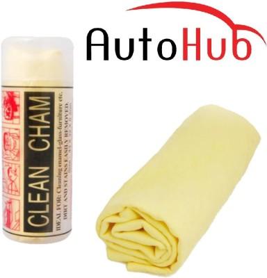 Auto Hub Chamois Leather Vehicle Washing  Cloth