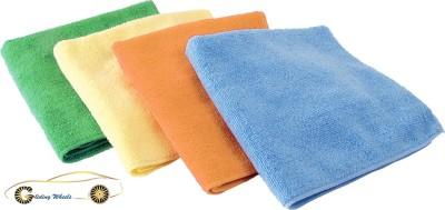 Gliding Wheels Microfiber Vehicle Washing  Cloth