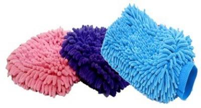 De AutoCare Microfiber Vehicle Washing  Hand Glove
