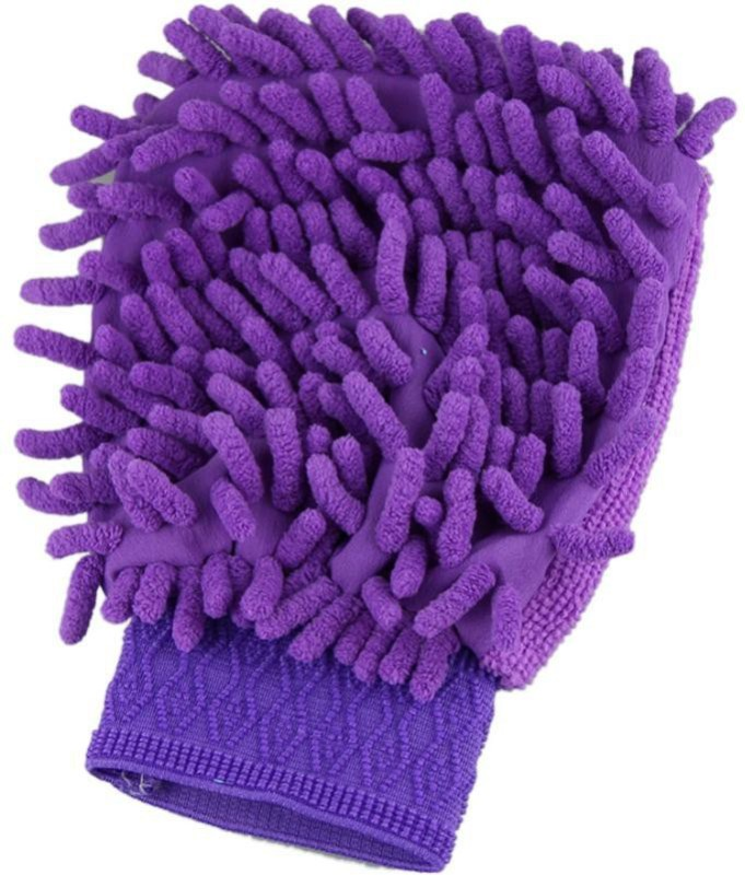 Step4deal Cotton Vehicle Washing  Hand Glove(Pack Of 1)