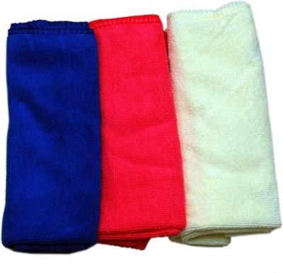 Medetai Microfiber Vehicle Washing  Towel(Pack Of 3)