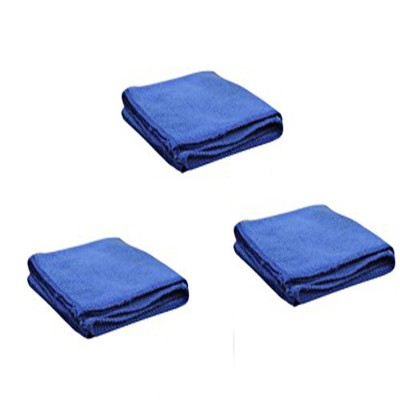 oneOeightdesigns Microfiber Vehicle Washing Cloth(Pack Of 3)
