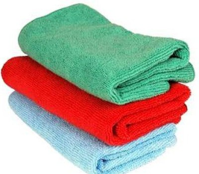 AutoStark Microfiber Vehicle Washing  Cloth(Pack Of 3)