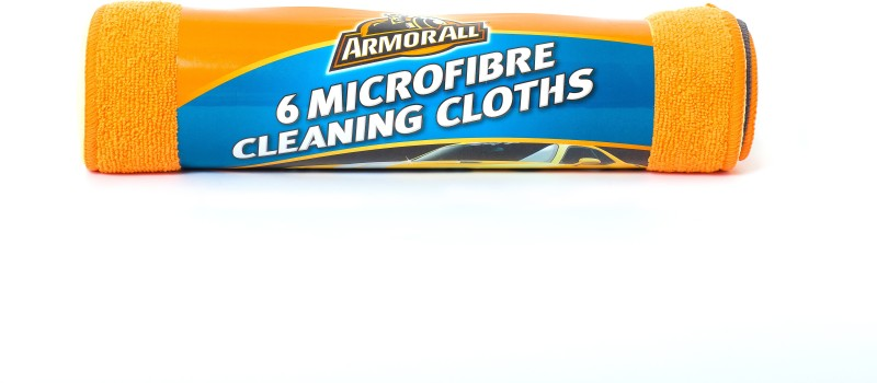 Armor All Microfiber Vehicle Washing  Cloth(Pack Of 6)