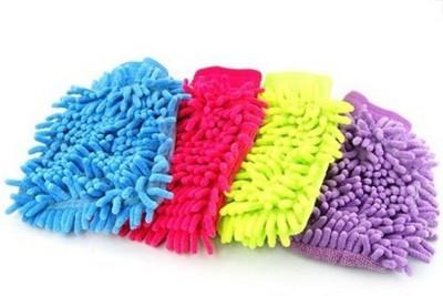 Sphiron Microfiber Vehicle Washing  Hand Glove