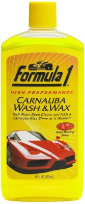 Formula 1 Wash & Wax Car Washing Liquid