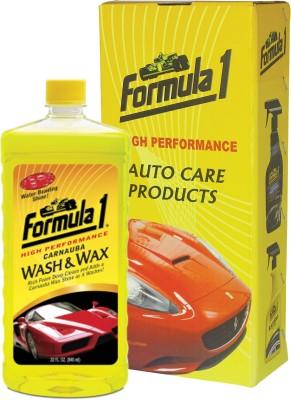 Formula 1 Carnauba And Wax Shampoo Big Size Car Washing Liquid(946 ml)