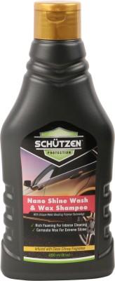 SCHUTZEN Wash and Wax Shampoo Car Washing Liquid(250 ml)