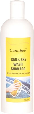 Canabee Car & Bike Wash Shampoo 500 ML Car Washing Liquid