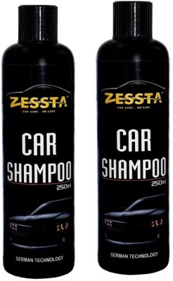 Zessta Car Shampoo pack of 2 Car Washing Liquid