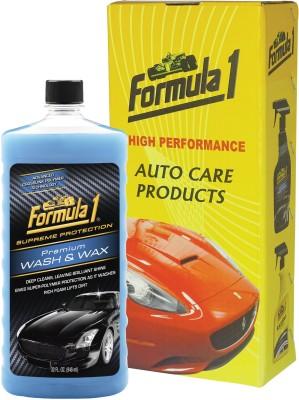 Formula 1 Premium Wash & Wax Car Washing Liquid(946 ml)
