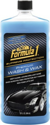 Formula 1 Premium Wash & Wax Car Washing Liquid