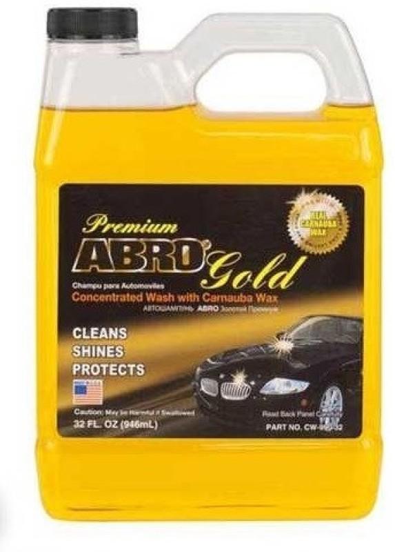 Abro Premium Gold + Super Sponge Car Washing Liquid(946 ml)