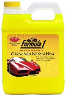Formula 1 Carnauba And Wax Shampoo Big Size Car Washing Liquid