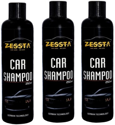 Zessta Car Shampoo pack of 3 Car Washing Liquid