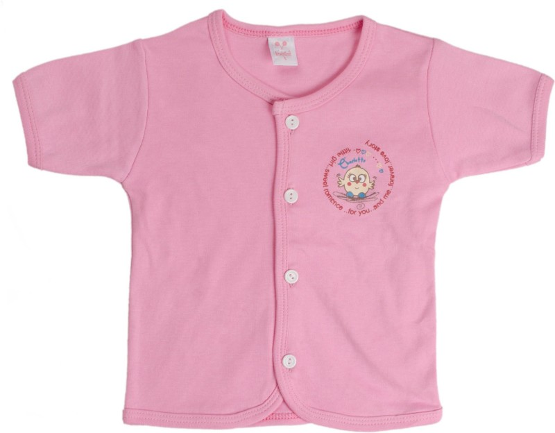 Kandy Floss Vest For Baby Boys Cotton(Pink, Pack of 1)