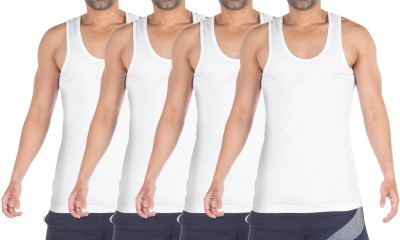 VIP SUPREME Mens Vest(Pack of 4)