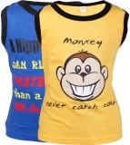 Gkidz Vest For Boys Cotton (Yellow)