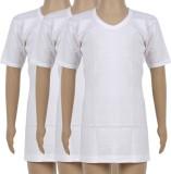 Harsha Vest For Boys Cotton (White)