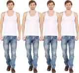 Silvio Men's Vest (Pack of 4)