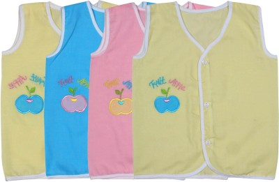 Ole Baby Vest For Baby Boys(Multicolor, Pack of 3)
