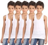 Dixcy Vest For Boys Cotton (White)