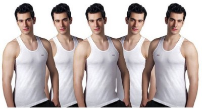 LUXVENUS Mens Vest(Pack of 5)