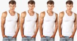 Lux cosi Men's Vest (Pack of 4)