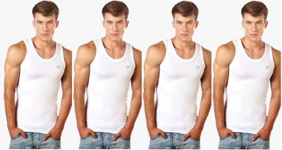 Lux cosi Mens Vest(Pack of 4)