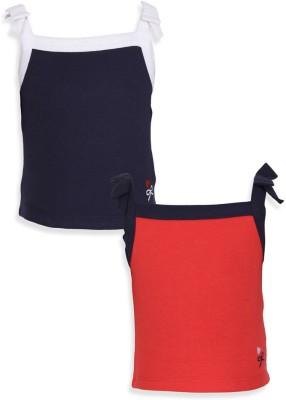 Mothercare Vest For Baby Girls(Blue, Sleeveless)