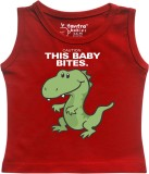 Tantra Vest For Baby Boys Cotton (Red)