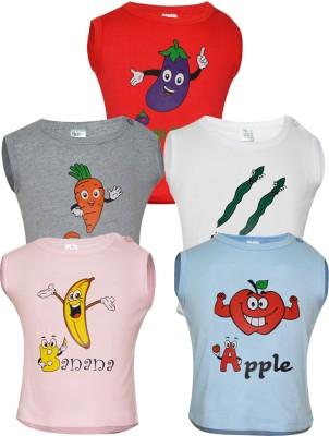 Gkidz Vest For Boys Cotton(Multicolor)