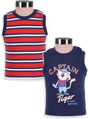 Mothercare Vest For Baby Boys(Blue, Sleeveless)
