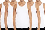 Bornleaf Men's Vest (Pack of 5)