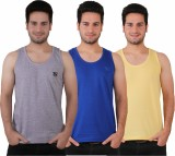Friction Men's Vest (Pack of 3)