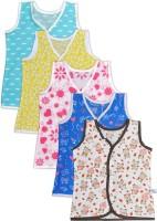 Knotty Kids Vest For Baby Boys Cotton(Multicolor)